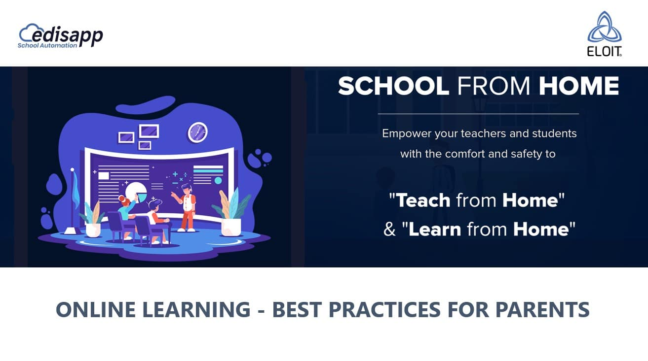 Online Learning  – Best Practices for Parents