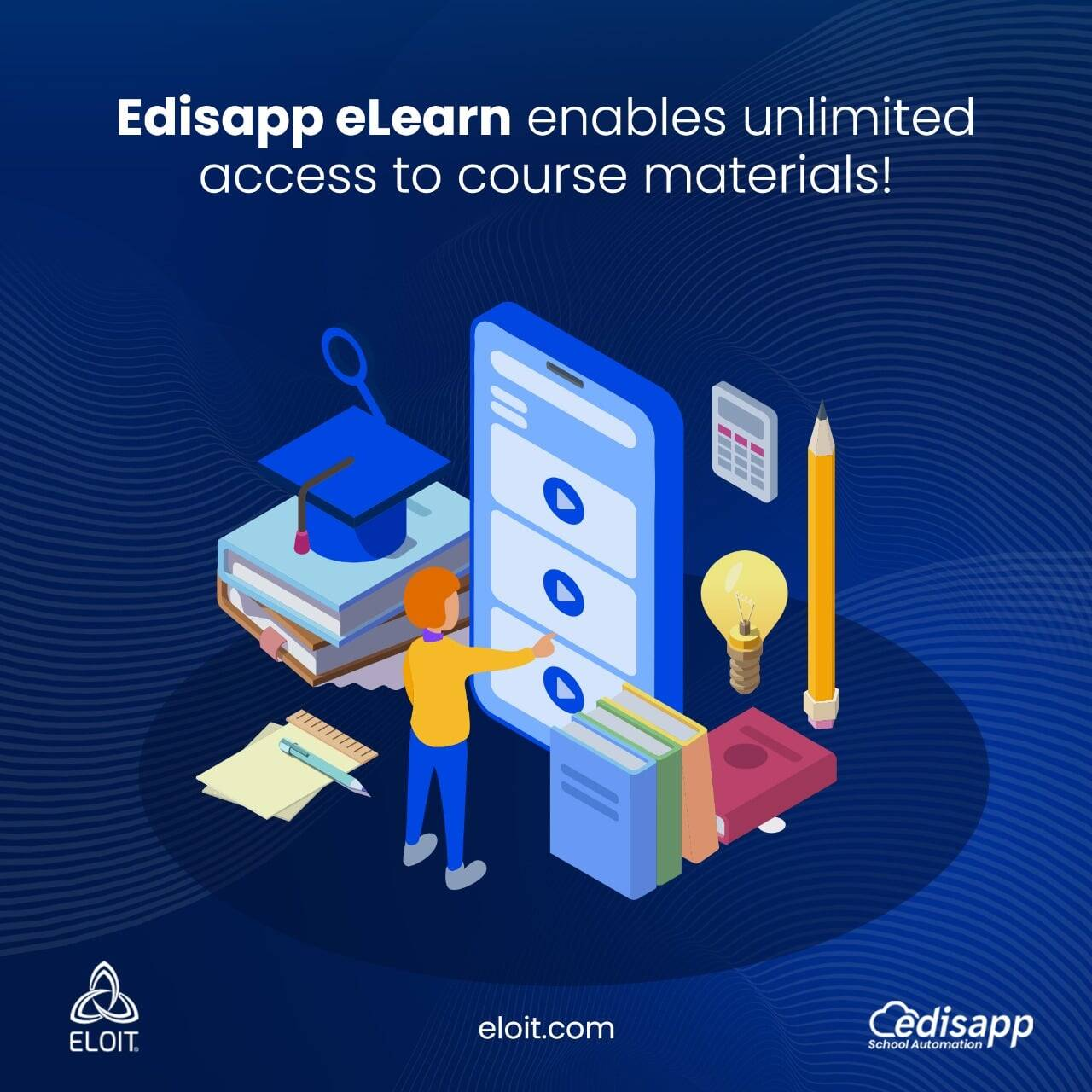 Edisapp eLearn – The easiest Learning Management System with Lesson Planning